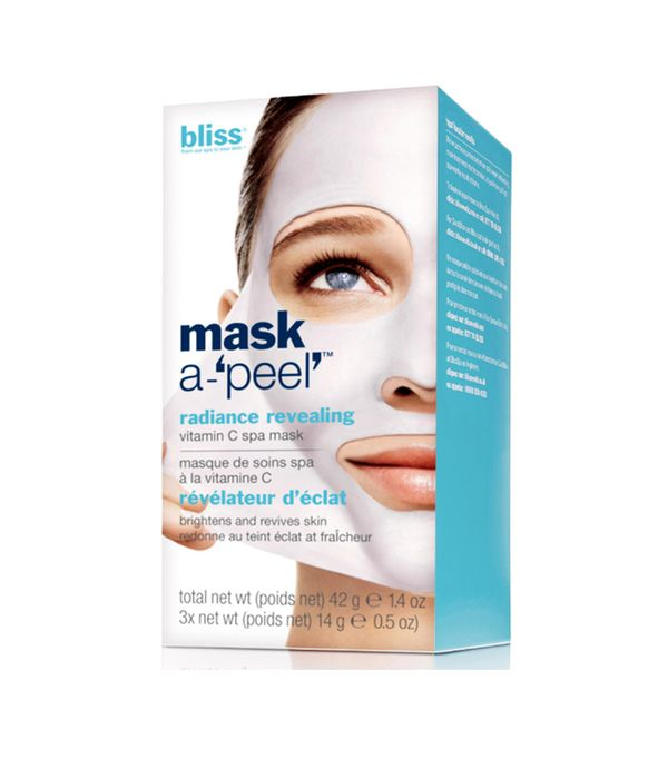 Best peel-off face mask: Bliss Mask-a-Peel