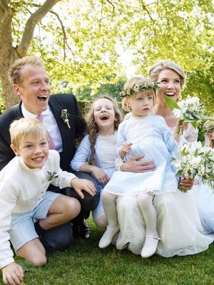 Kate Middleton's Stylist Just Got Married in the Prettiest Wedding Dress