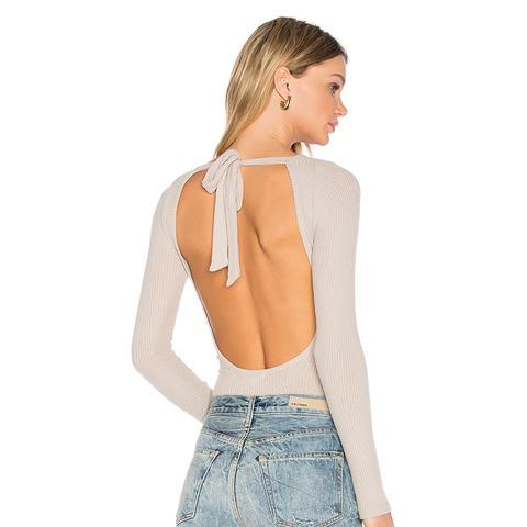 Tie Back Bodysuit