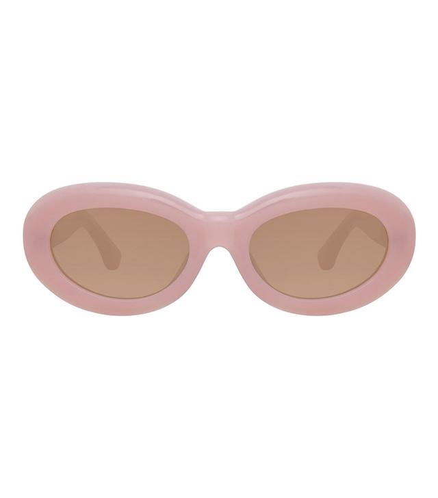 Dries Van Noten 135 C6 Oval Sunglasses