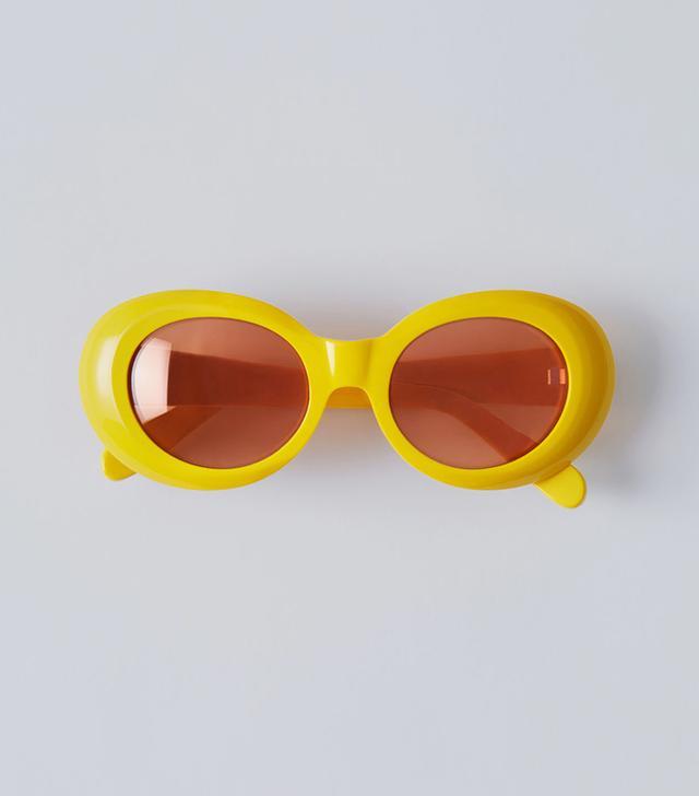 Acne Studios Mustang Yellow/Orange Mirror