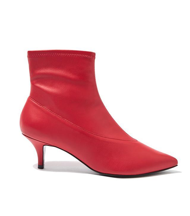Topshop Malbec Sock Boots