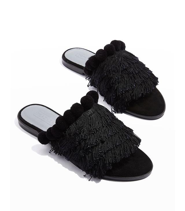 Topshop Felicity Fringe Shoes