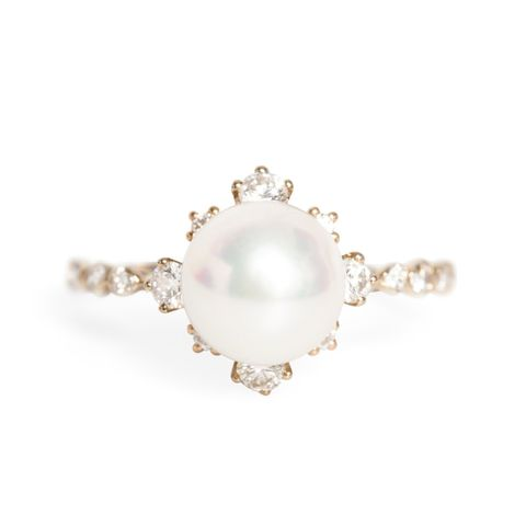 Winter Pearl Ring