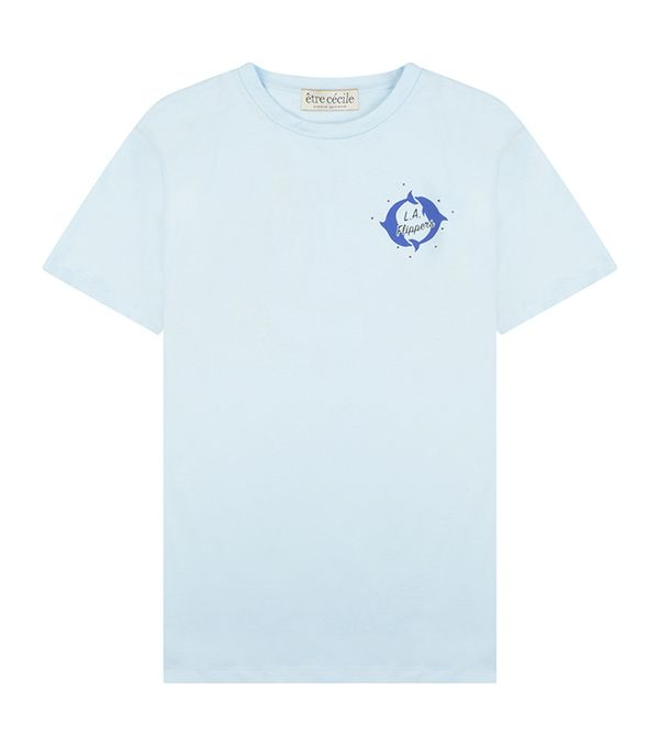 Être Cécile LA Flippers Badge T-Shirt