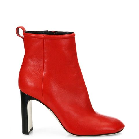Ellis Lamb Leather Ankle Boots