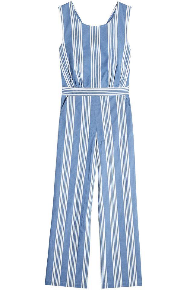 M.i.h Jeans Striped Cotton Jumpsuit