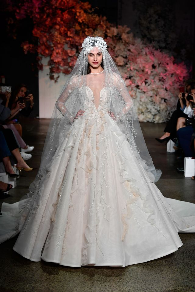 Steven Khalil Fashion Week Photo Getty Images We Predict Wedding Dresses With