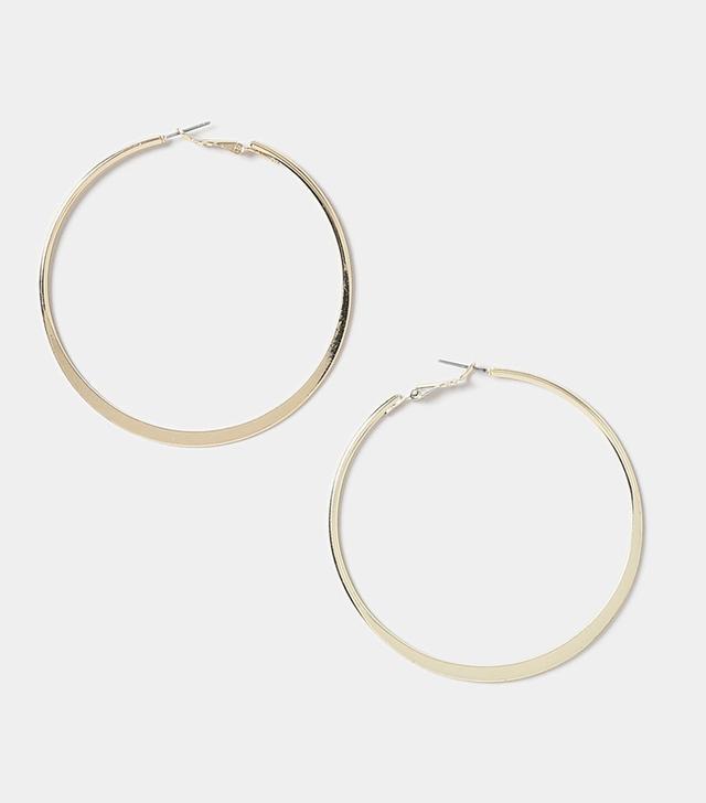 Topshop hoop earrings