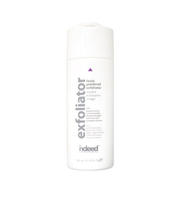 Carbonated cleanser: Indeed Labs Facial Powdered Exfoliator