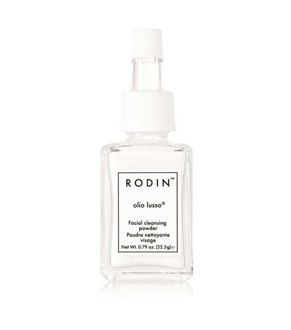 Carbonated cleanser: Rodin Facial Cleansing Powder
