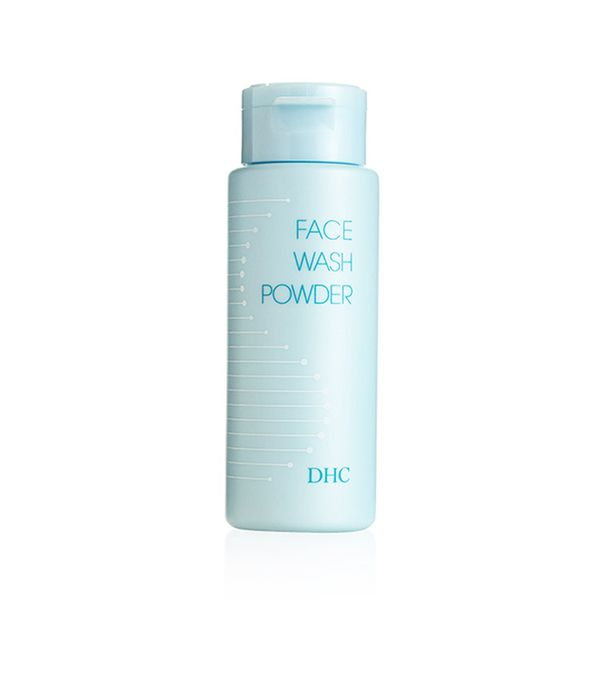 Carbonated cleanser: DHC Face Wash Powder