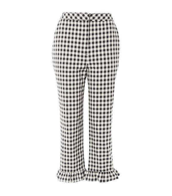 Topshop trends 2017: gingham trousers with frill