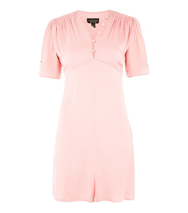 Topshop trends 2017: Pink tea dress