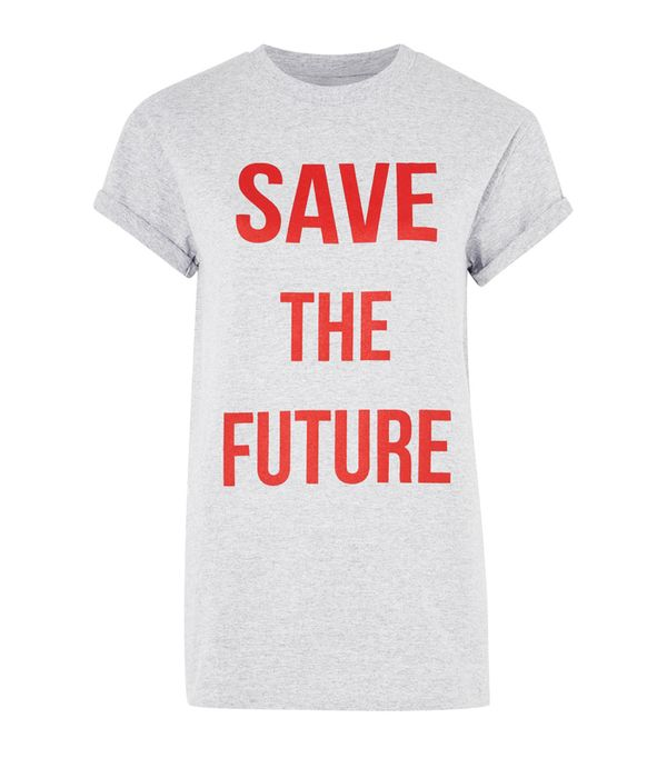 Topshop trends 2017:  Save the Future T-shirt