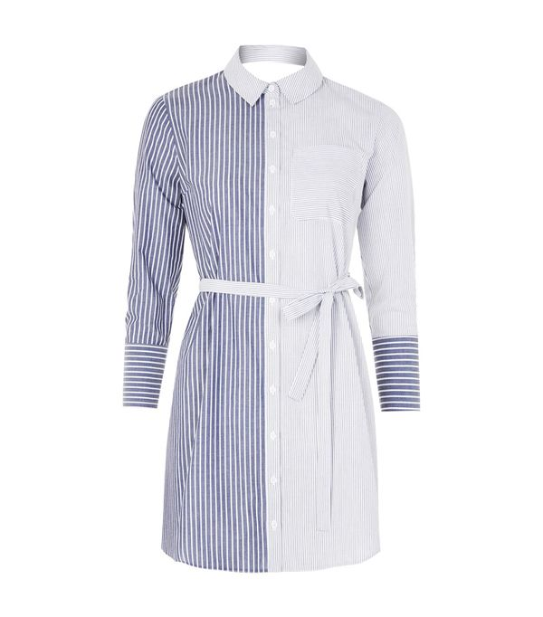 Topshop trends 2017: Stripe shirt dress