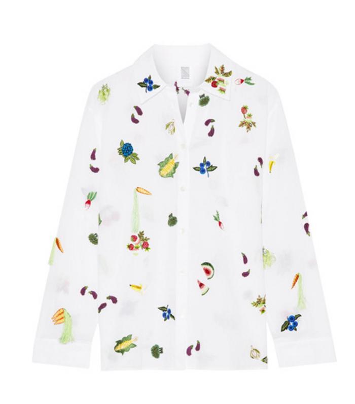 Best novelty shirt: Rosie Assoulin salad bar shirt