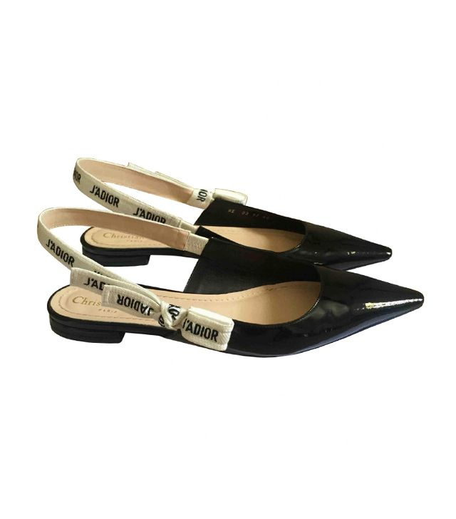 Dior Patent Leather Ballet Flats