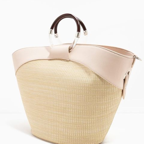 Circular Handle Handbag
