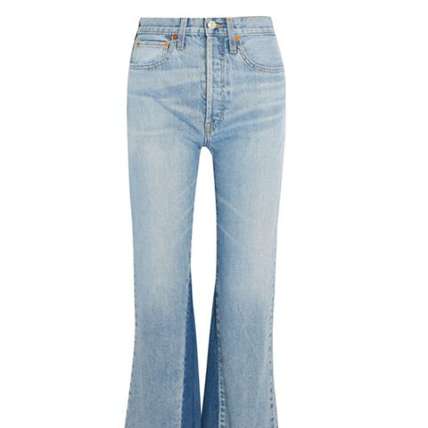 Originals The Leandra Cropped High-Rise Flared Jeans