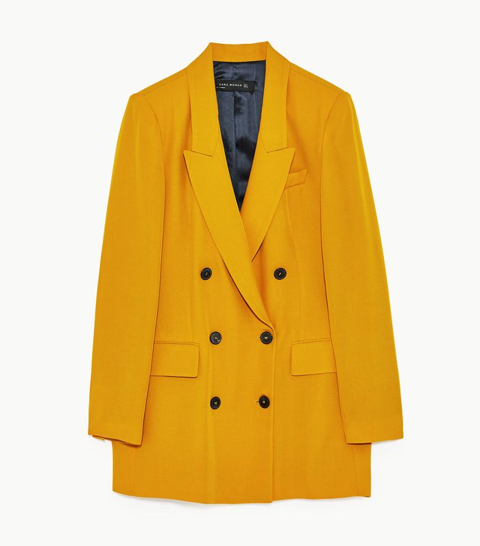Colour Trends 2017: Zara yellow blazer