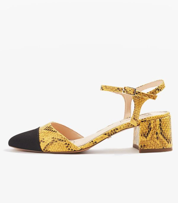 Colour Trends 2017: Mustard shoes