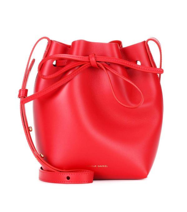 Colour Trends 2017: Red Mansur Gavriel bag