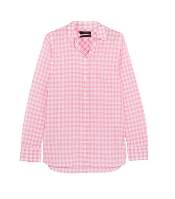 Colour Trends 2017: J Crew gingham shirt