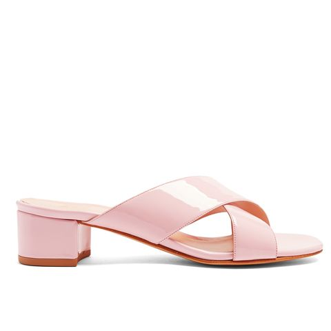 Lauren Patent-Leather Sandals