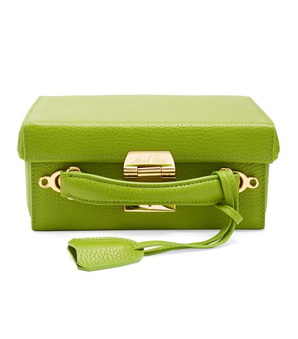Colour Trends 2017: Marc Cross green box bag