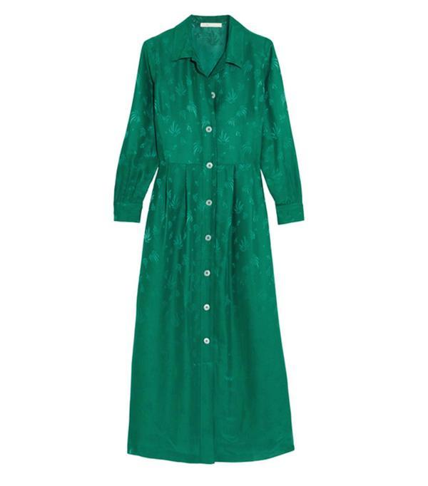 Colour Trends 2017: Maje green dress