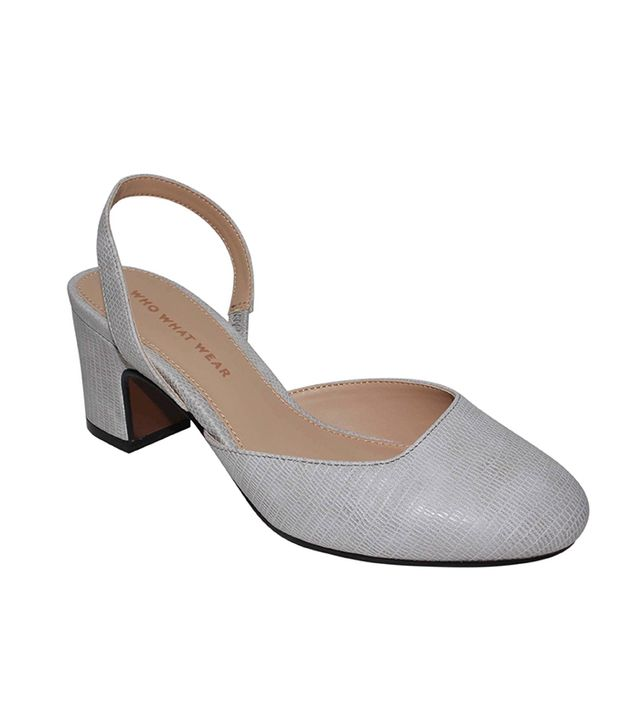 Who What Wear Annalise Slingback Pumps