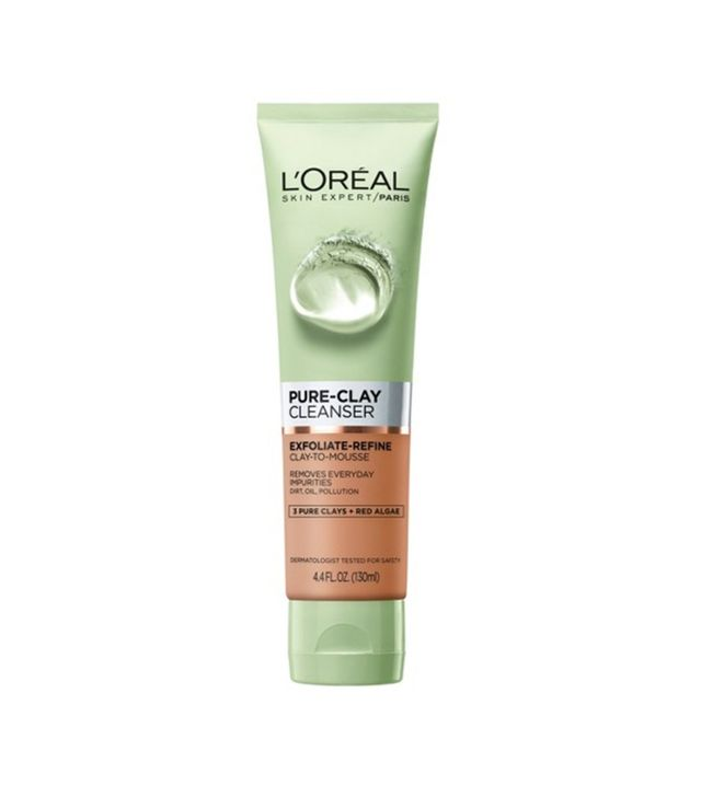 L'Oréal Paris Pure Clay Cleanser Exfoliate and Refine