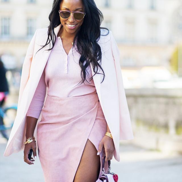 Shiona Turini pink street style