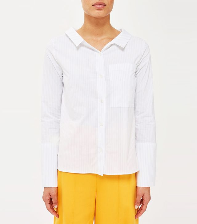 Topshop Tie Back Shirt by Boutique