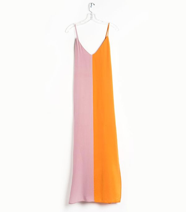 Catherine Gee Two Tone Dress