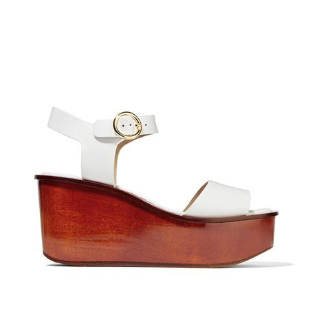 Bridgette Leather Platform Sandals