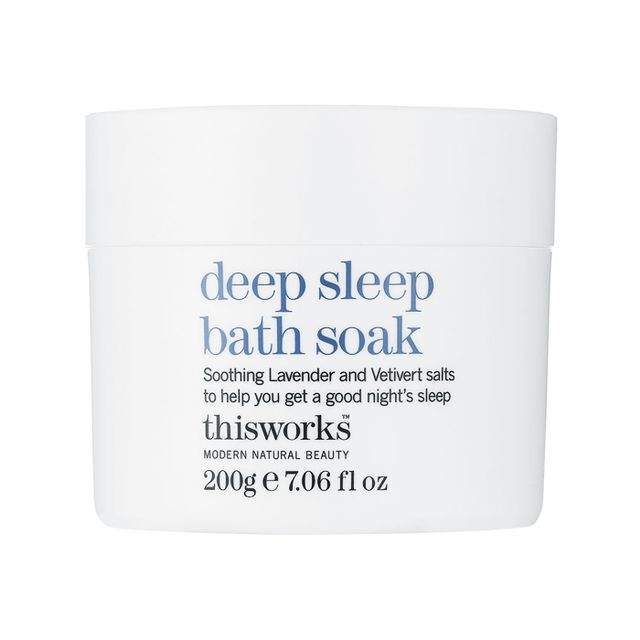 Sleep deprivation: This Works Deep Sleep Bath Soak