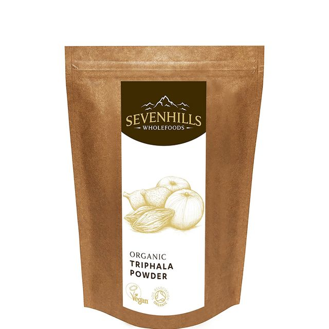adaptogens and skin: Seven Hills Organic Triphala Powder