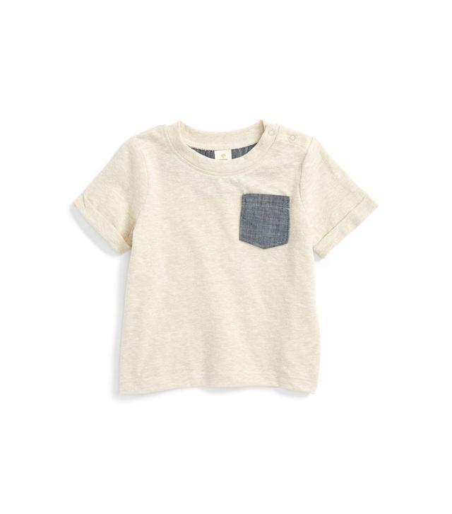 Tucker + Tate Chambray Pocket T-Shirt