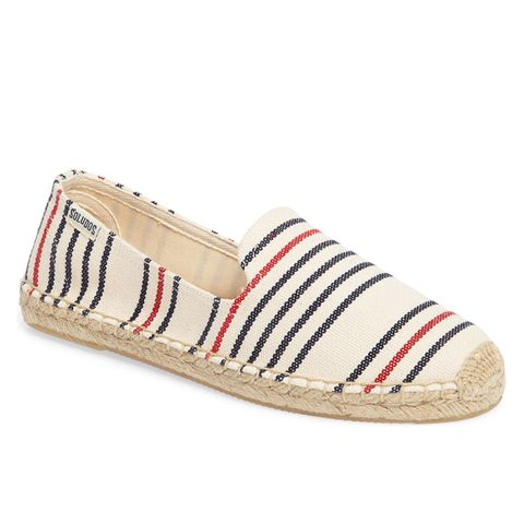 Stripe Espadrille Loafers