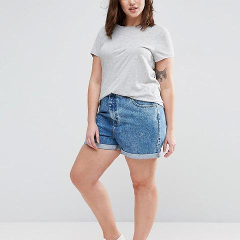 Denim Mom Shorts in Luella Blue Wash