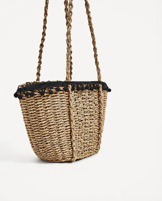 Zara Pom Pom Bag