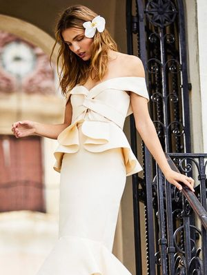 Are These the Most Fashion-Girl Wedding Dresses Ever?