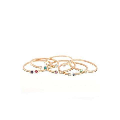 Dual Birthstone Ring