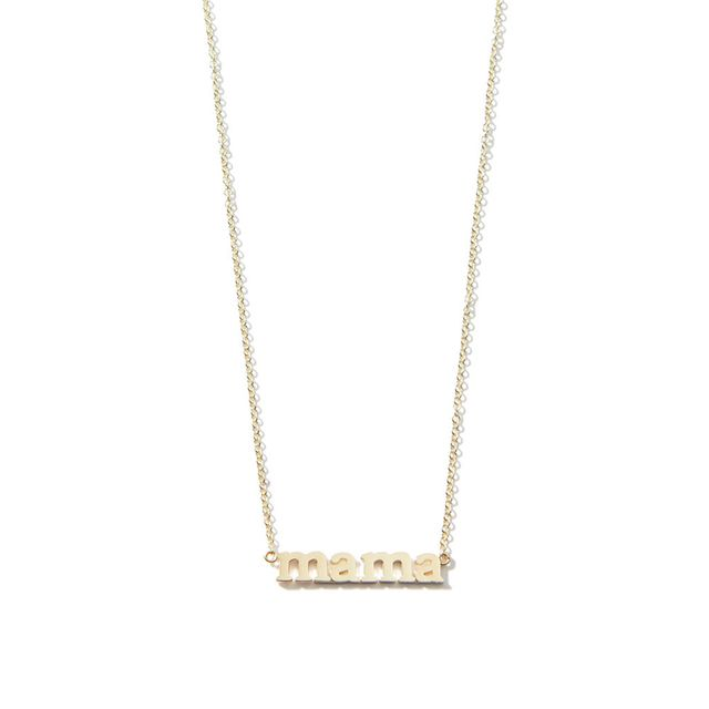Jennifer Meyer Jewellery Mama Necklace