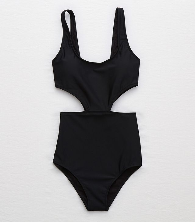 Aerie Super Scoop One Piece Swimsuit