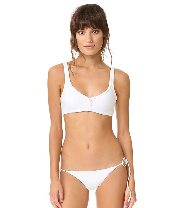 Tavik Swimwear Marlowe Ribbed Bikini Top and Jax Bottoms