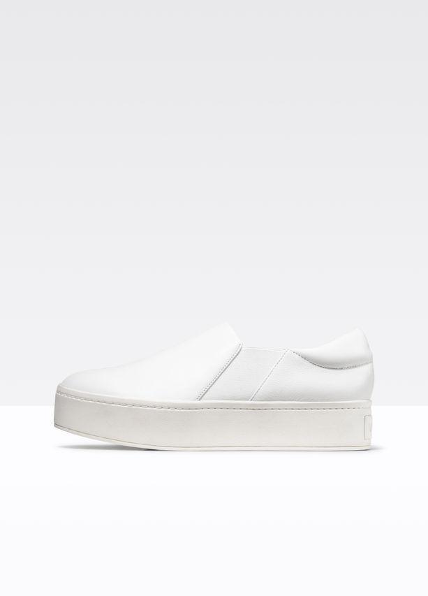 Vince Warren Leather Sneakers