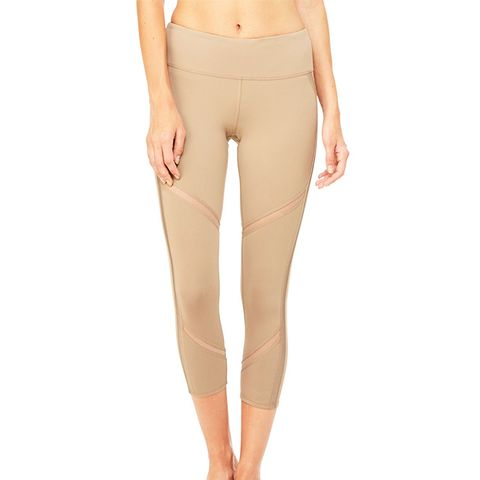 Continuity Capri Leggings in Gravel